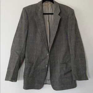Hugo Boss Grey Woven Sports Coat (